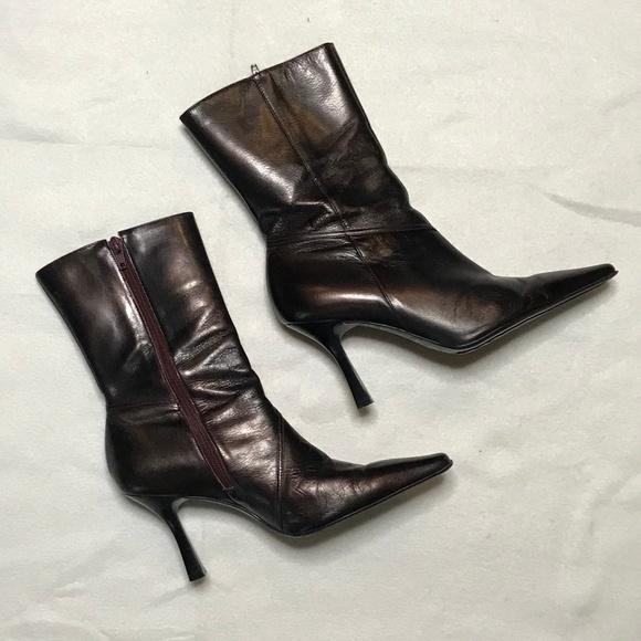 51e39b9a8c39 Gianni Bini Shoes - GIANNI BINI JOELY Boots Low on Calf Boot